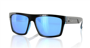 Carve Volley Iridium Sunglasses, Black Blue