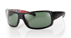 Carve Sonny Polarized Sunglasses, Matt Black