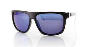 Carve Sanchez Pol/Iridium Sunglasses, Black