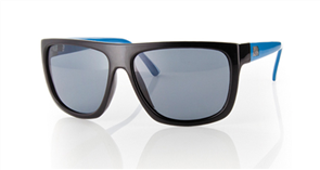 Carve Sanchez Polarized Sunglasses, Black Blue