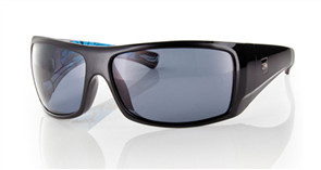 Carve Wolfpak Polarized Sunglasses, Black