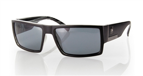 Carve Shady Polarized Sunglasses, Matt Black
