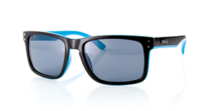 Carve Goblin Polarized Sunglasses, Black Blue