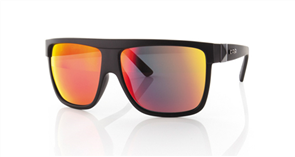 Carve Rocker Iridium Sunglasses, Matt Black