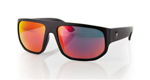 Carve Modulator Iridium Sunglasses, Matt Black
