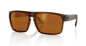 Carve Vendetta Polarized Sunglasses, Stripe Brown