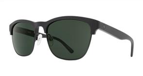 SPY Sunglasses Loma  Matte Black/Black - Happy Grey Green