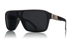 Dragon Remix Sunnies, Matte Black Grey P2 Polarized