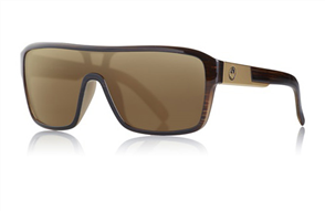Dragon Remix Sunnies, Matte Woodgrain / Bronze P2 Polarized