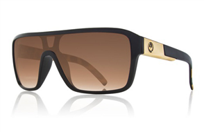 Dragon Remix Leopard Safari Sunnies, Bronze Gradient