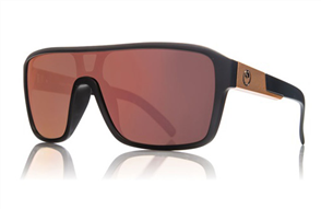 Dragon Remix Sunnies, Matte Black Rose Gold Ion