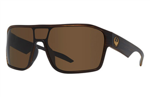 Dragon Tolm Sunnies, Matte Woodgrain / Brown