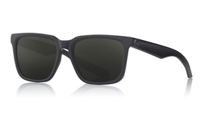 Dragon Baile Mick Fanning Signature Sunnies, Matte Black H20 Smoke P2 Polariz