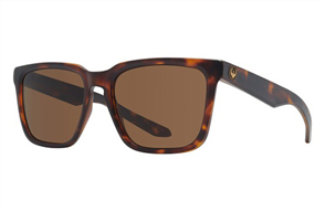 Dragon Baile Sunnies, Matte Dark Tortoise / Brown P2 Polarized