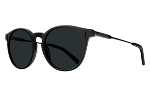 Dragon Hype Sunnies, Matte Black Smoke