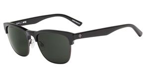SPY Sunglasses Loma  Matte Black/MtGunmetal - Happy Grey Green