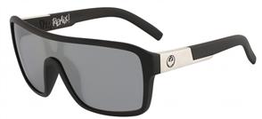 Dragon Remix LL Sunglasses, Matte Black/ Silver