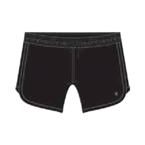 "Hurley P30 5"" Solid Trainer Boardshort, Black"