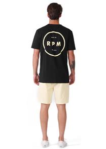 RPM Circle Tee, Black