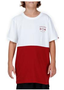 Element Millwood Short Sleeve Tee, White Red