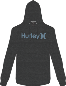 Hurley Surf Check One And Only Hooded Fleece, 032
