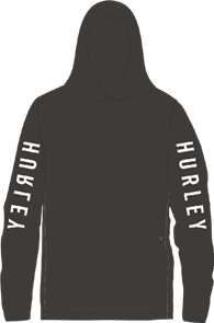 Hurley The One Long Sleeve Long Sleeve T-Shirt, 010