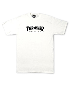 Thrasher Skate Mag Kids Tee, White