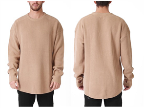 RPM Oversize Knit, Tan