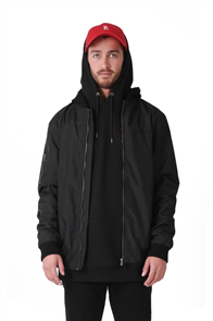 RPM Nylon Bomber, Black