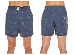 Oneill Switch Monsoon Short, Black Aop