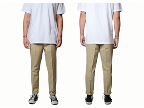 Dickies WE872 Slim Tapered Fit Pant, Khaki