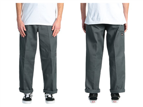 Dickies 85-283 Loose Double Knee Work Pant, Charcoal