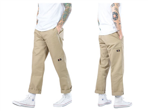 Dickies 85-283 Loose Double Knee Work Pant, Khaki