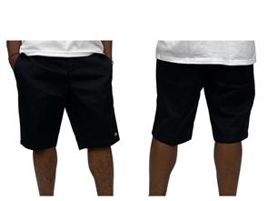"""Dickies Wr872 Slim Fit 10"""" Work Short, Black"""