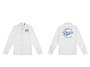 Deus Station Shirt, Vintage White