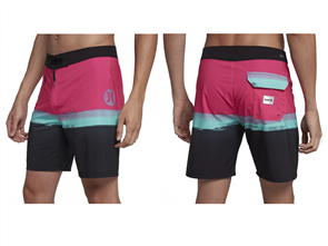 Hurley Pure Glass 18 Inch Boardshort, Hyper Pink