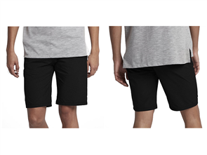 Hurley Dri-Fit Chino Short 21 Inch Walk Short, Black