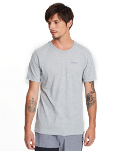 Hurley Dri-Fit One & Only 2.0 T-Shirt, Dark Grey Heather