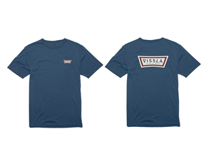Vissla Token Tee, Strong Blue
