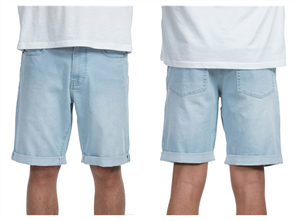 Element Ludlow Walkshort, Washed Blue, CRS
