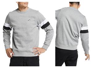 Nike Mens Sb Icon Crew, 063, Dark Grey