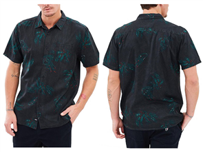 Globe Appleyard Howler Short Sleeve Shirt, Weed