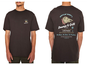 Oneill Lounge Tee, Tyre Black