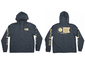Salty Crew Alpha Windbreaker Jacket, Navy
