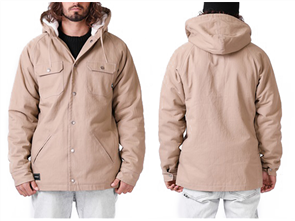 RPM Parker Jacket, Tan