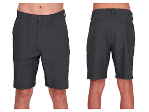 Billabong Surftrek Perf Walkshort, Black Heather