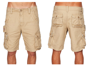 Element Source Cargo Short, Khaki