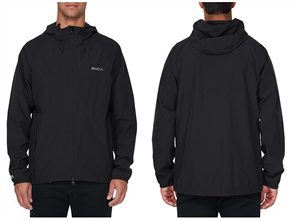 RVCA Va Windbreaker, Black