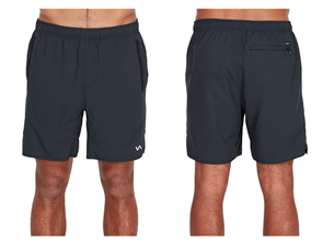 RVCA Yogger Iii Short, Black