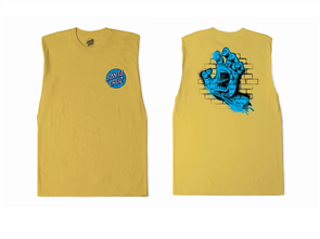 Santa Cruz Spray Hand Muscle - Youth, Shunshine Yellow